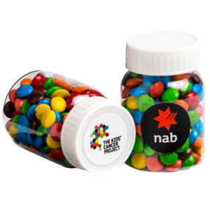 Baby Jar filled with Mini M&Ms 45G