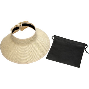 Beachcomber Roll-Up Sun Visor with Pouch  Image #1