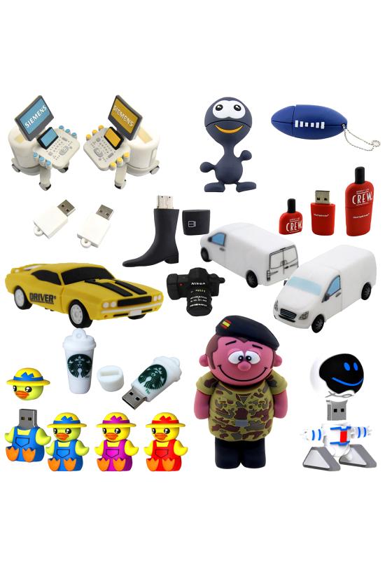 3D Custom Shape USB Flash Drive  Image #1