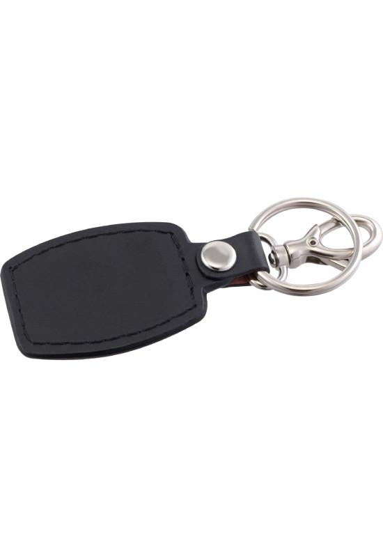 Brushed Plate Key Ring  Image #1