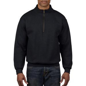 Heavy Blend Vintage Classic Adult Zip Cadet Collar Sweatshirt