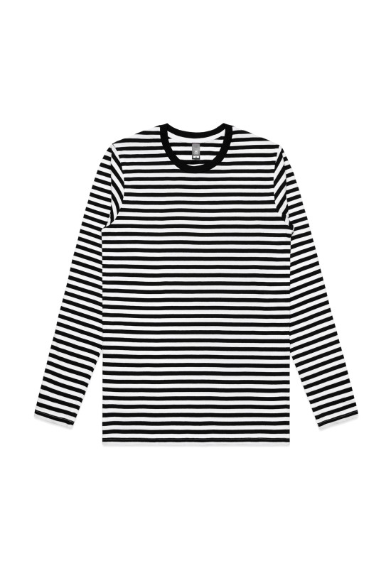 Match Stripe L/S Tee