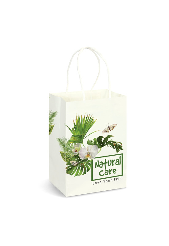 Small Paper Carry Bag - Full Colour  Image #1