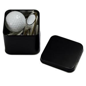 Square 1 Ball Golf Accessories Tin