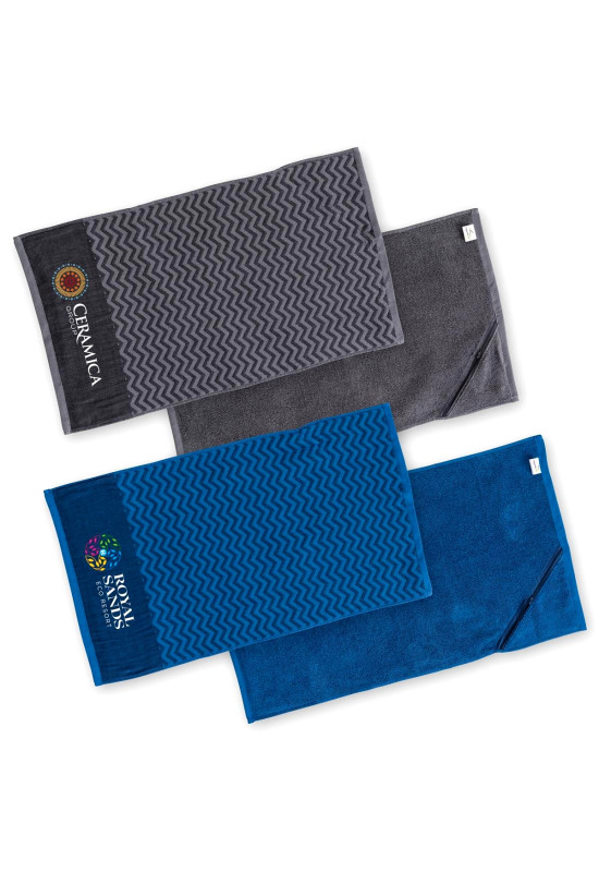 Elite Gym Towel with Pocket
