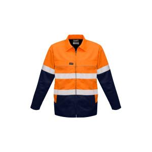 Mens Hi Vis Cotton Drill Jacket