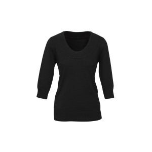 Ladies 80/20 Wool-Rich Pullover