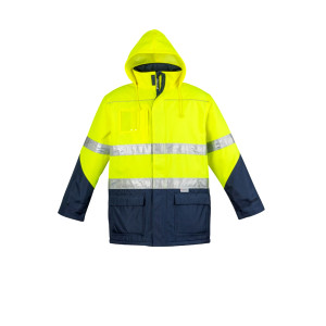 Unisex Day/Night Quilt Lined Storm Jacket