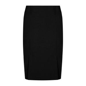 Elliot Womens Washable Box Pleat Skirt