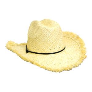 Frayed Edge Cowboy Straw Hat