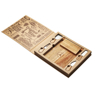 St. Andrews Magnetic Cheese Board & Knife Set