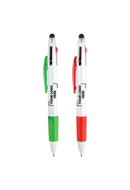 Tri Colour Stylus Pen