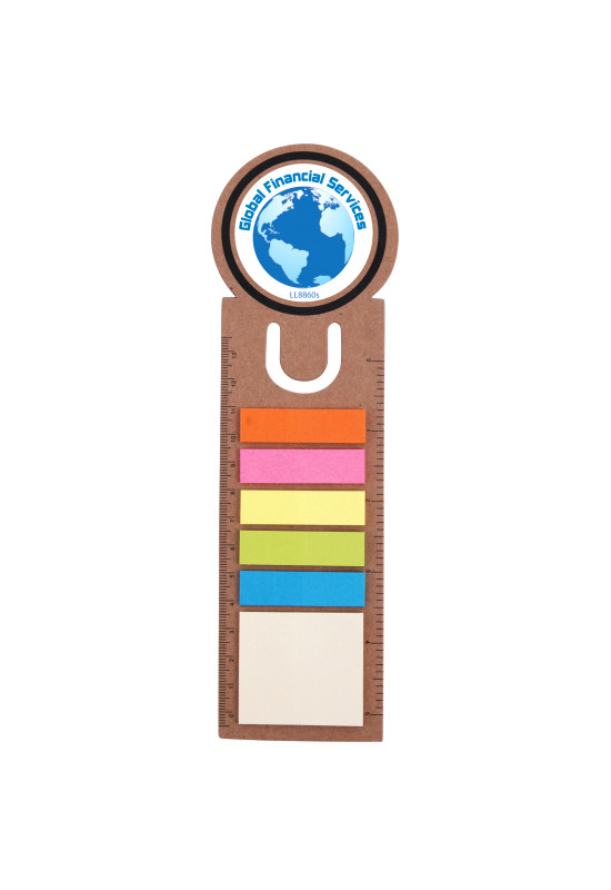 Circle Bookmark / Ruler with Noteflags  Image #1