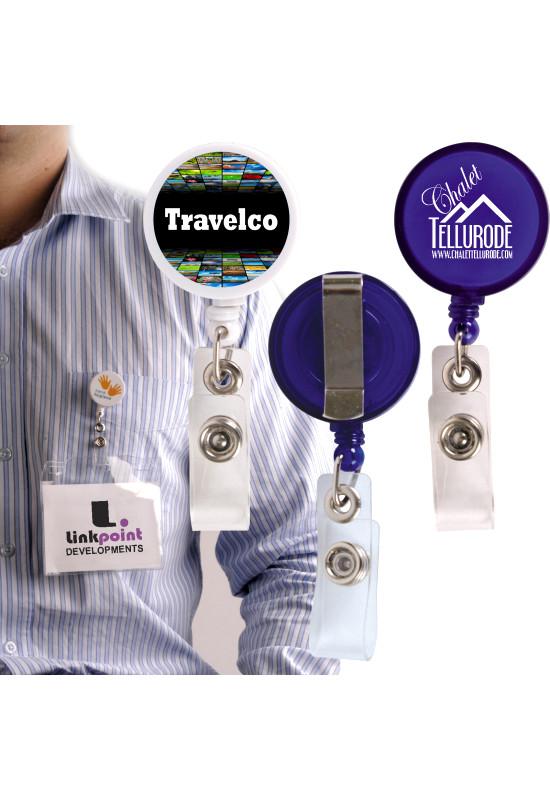 Corfu Retractable Name Badge Holder  Image #1