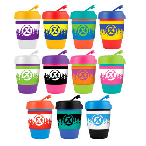 Kick Coffee Cup / Silicone Band  Image #1