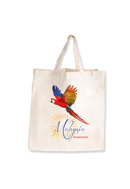 Supa Shopper Short Handle Calico Bag   Image #1