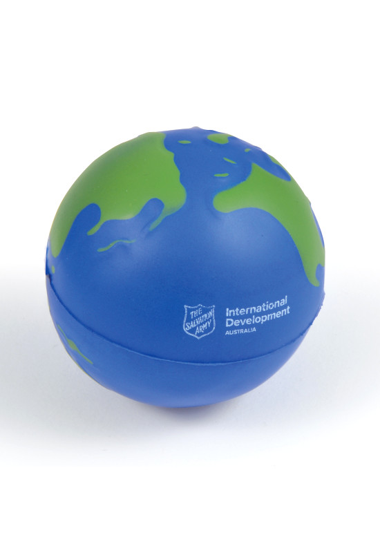 2 Colour World Globe Stress Reliever  Image #1