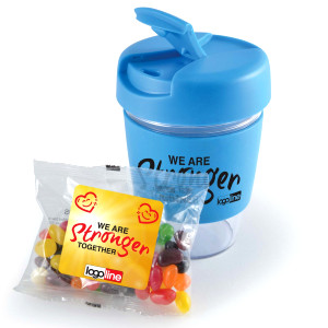 Kick Coffee Cup with Jelly Beans  Image #1