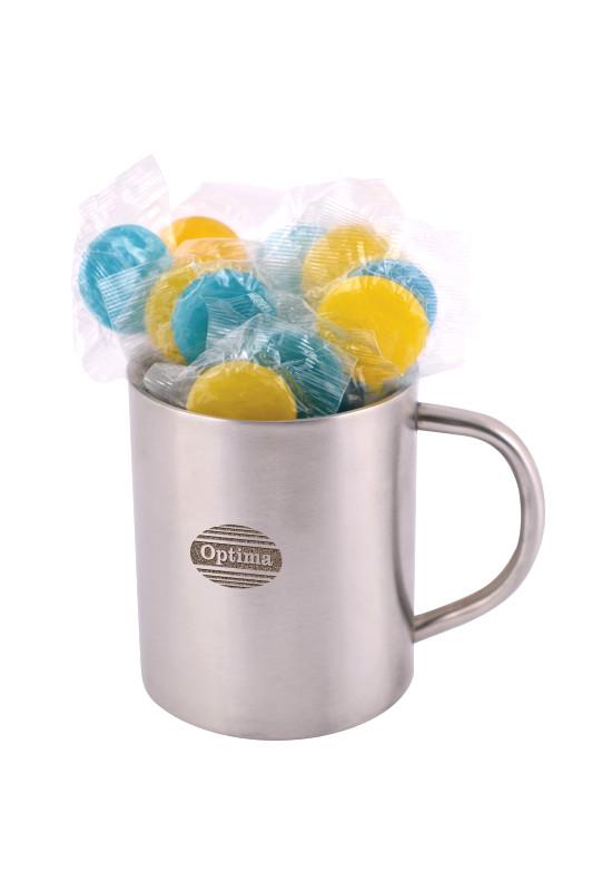 Corporate Colour Lollipops in Java Mug  Image #1
