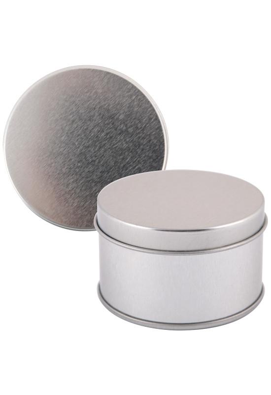 Silver Round Tin  Image #1