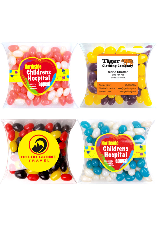 Corporate Colour Mini Jelly Beans in Pillow Pack  Image #1