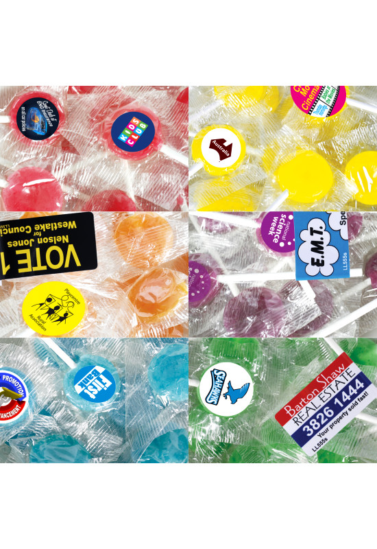 Corporate Colour Lollipops  Image #1