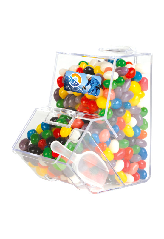 Assorted Colour Mini Jelly Beans in Dispenser  Image #1