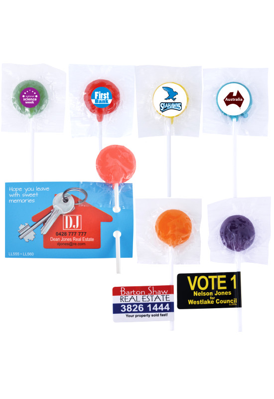 Assorted Colour Lollipops  Image #1