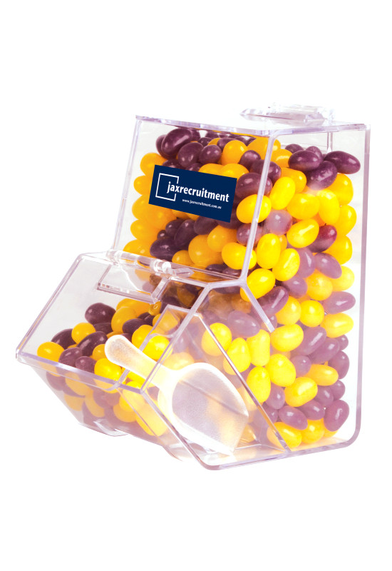 Corporate Colour Mini Jelly Beans in Dispenser  Image #1