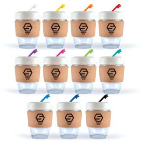 Vienna Glass Eco Coffee Cup / Cork Band  Image #1