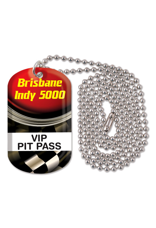 Dog Tag Neck Chain  Image #1