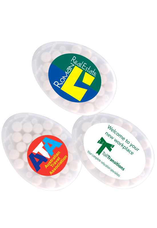 Egg Shape Sugar Free Breath Mints  Image #1