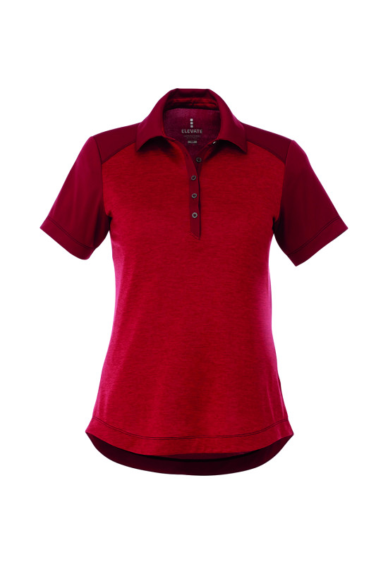 SAGANO Short Sleeve Polo - Womens  Image #1