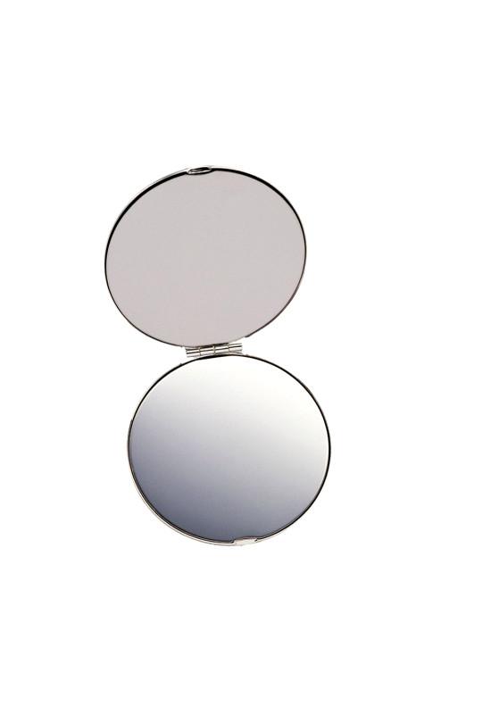 Silver Compact Mirror  Image #1