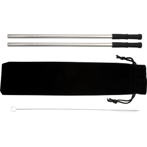 Reusable Stainless steel Straw Set with Brush  Image #1