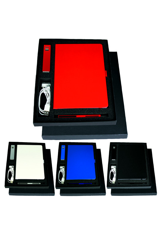 Gift Set with JB1008 Journal, 7701 Jolt Charger & 6012 Danley Pen  Image #1