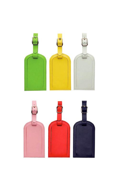 Coloured Luggage Tag  Image #1