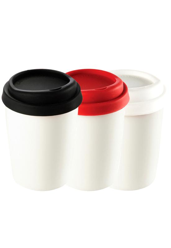 Ceramic Mug with Silicone Lid  Image #1