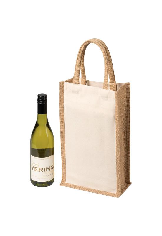 Two Bottle Canvas Wine Carrier  Image #1