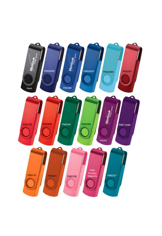 Rotate USB Flash Drive - 2 Tone Finish  Image #1