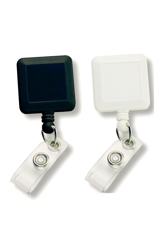 Square Retractable Badge Holder  Image #1
