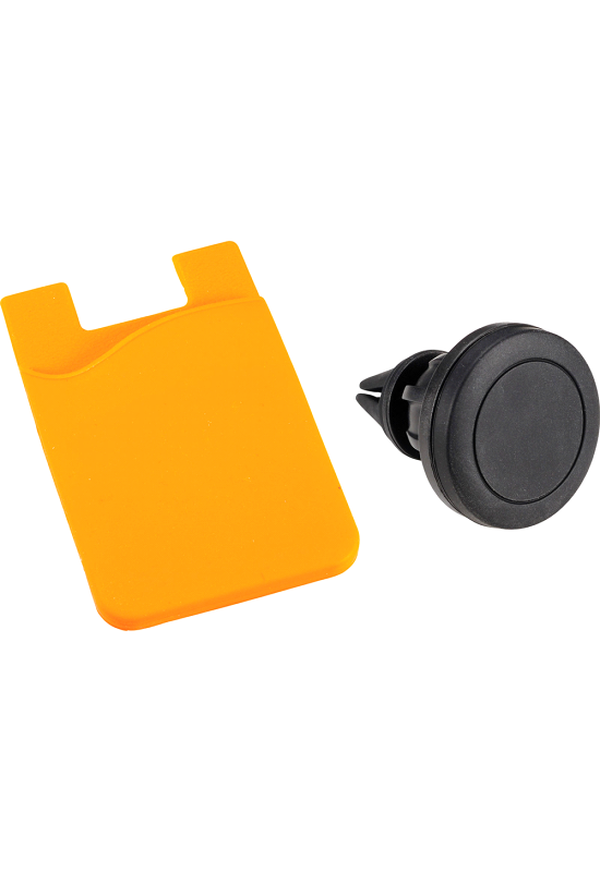 Magnetic Phone Mount w/ Silicone Wallet  Image #1