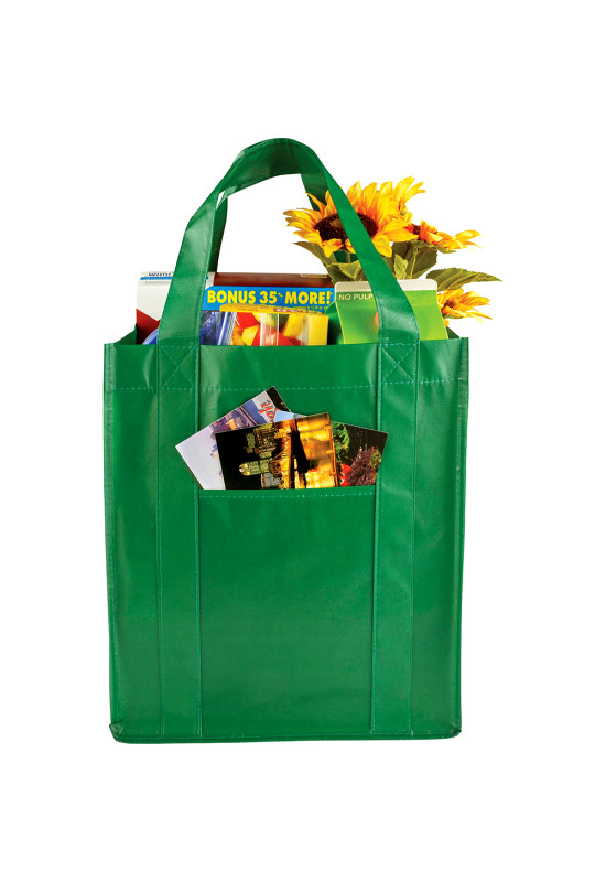 Laminated Non-Woven Grocery Tote  Image #1
