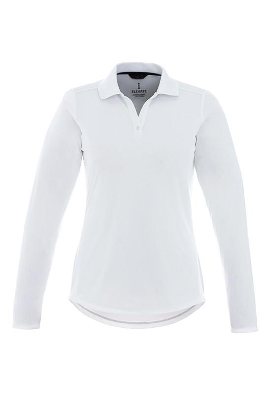 MORI Long Sleeve Polo - Womens  Image #1