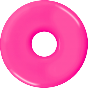 7-1/4 Inch Donut Flyer  Image #1