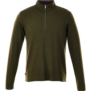STRATTON Knit Quarter Zip - Mens  Image #1