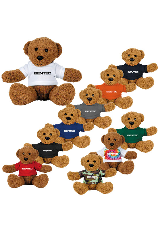 8 inch Plush Rag Bear with Shirt  Image #1
