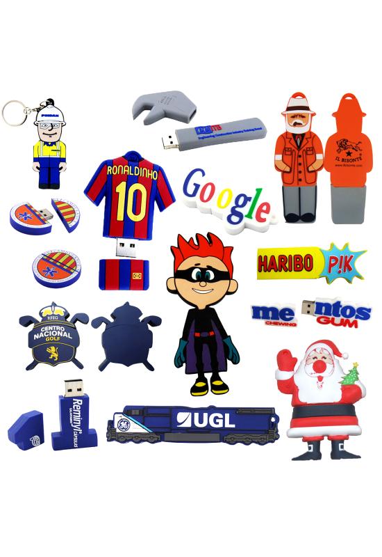 2D Custom Shape USB Flash Drive  Image #1