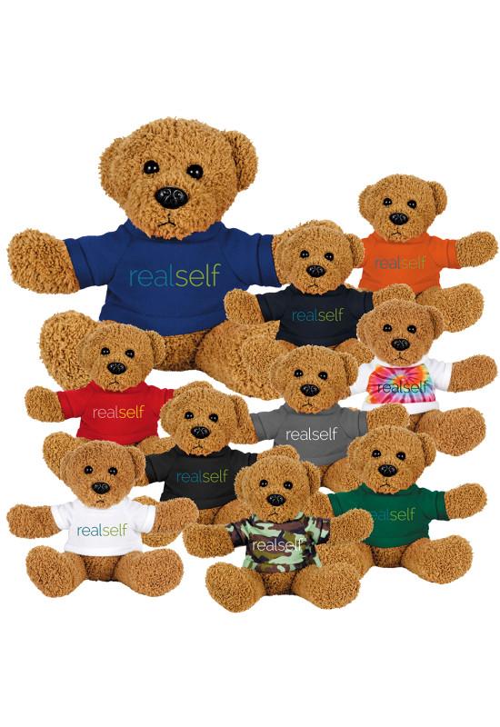6'' Plush Rag Bear with Shirt  Image #1
