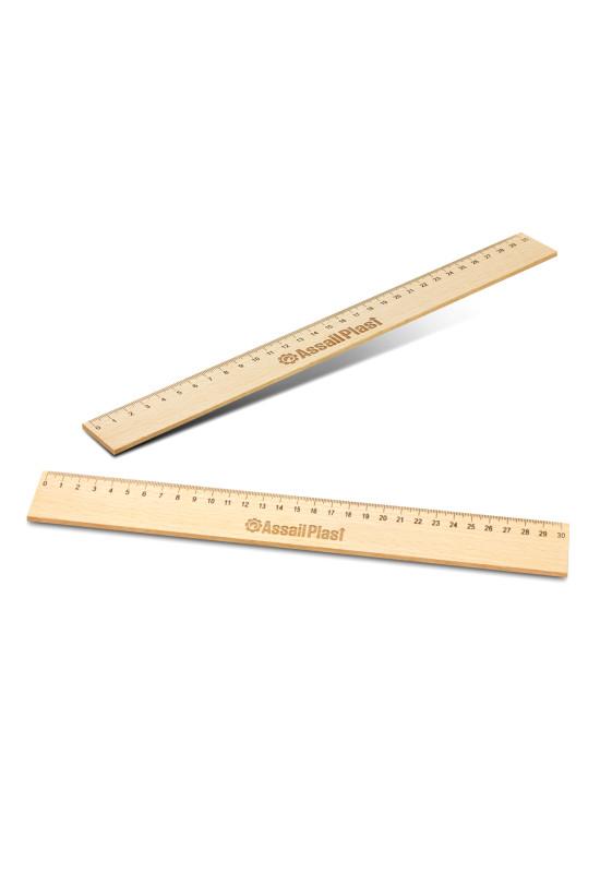Wooden 30cm Ruler  Image #1